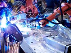 Metalliteollisuuden tuotannon kuva